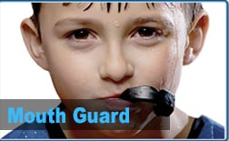 Mouth guard for children in pediatric dentist in valencia ca