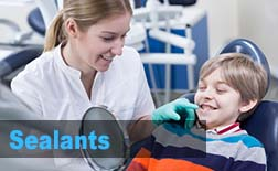 Sealing decay treatment pediatric dentist in valencia ca
